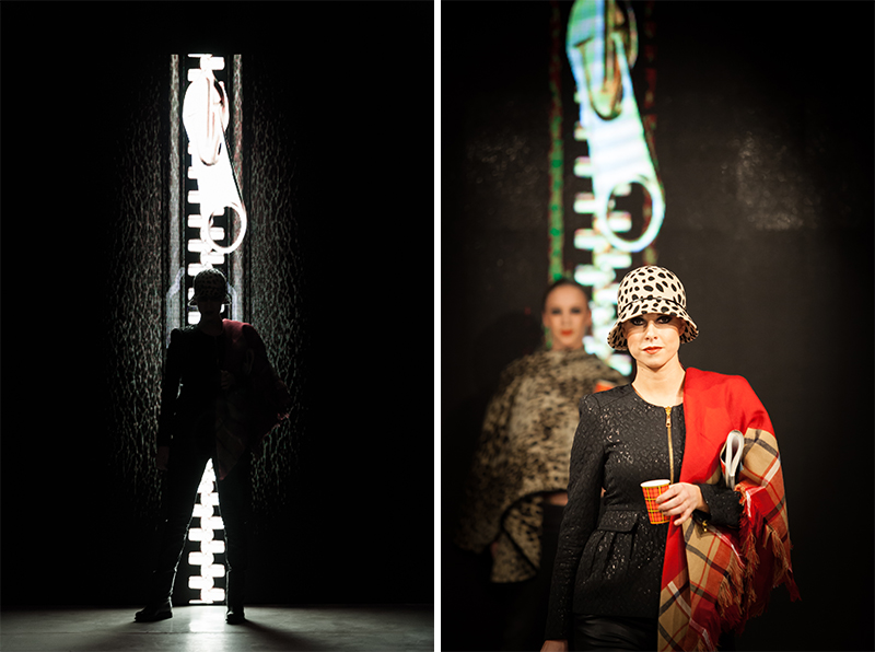 Modeshow Sessibon modellen