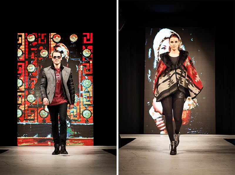 Modeshow fotografie Sessibon modellen bij het Trendevent