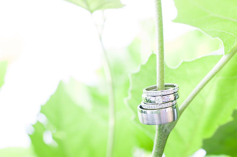 Bruidsfotografie ringen